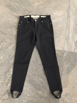 Jacob Cohen Strapped Trousers black polyamide