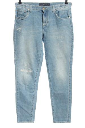 Jacob Cohen Slim Jeans blau Casual-Look