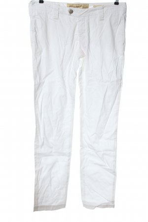 Jacob Cohen Straight-Leg Jeans weiß Casual-Look