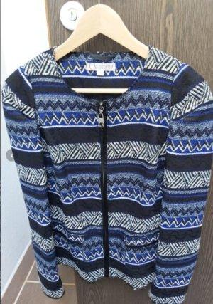 Comma Blazer en tweed multicolore coton