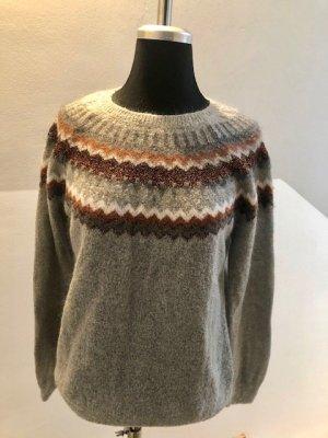 Jacquard-Pullover von Hallhuber