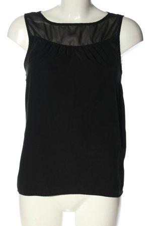 Jacqueline de Yong Blouse topje zwart casual uitstraling