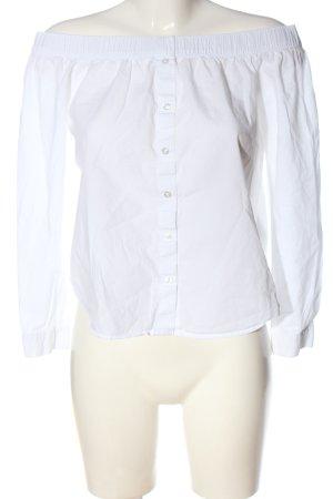 Jacqueline de Yong Camicetta alla carmen bianco stile casual