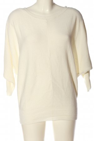 Jacqueline de Yong Coarse Knitted Sweater natural white casual look