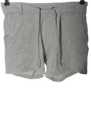 Jacqueline de Yong Hot pants grigio chiaro puntinato stile casual
