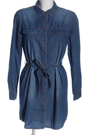 Jacqueline de Yong Jeanskleid blau Casual-Look
