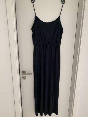 Jacqueline de Yong Jersey langes Kleid dunkelblau