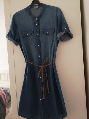 Jacqueline de Yong Jeansowa sukienka niebieski-ciemnoniebieski