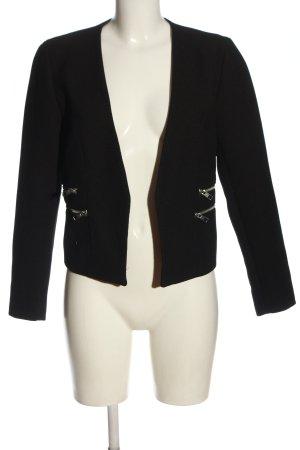 Jacqueline de Yong Korte blazer bruin zakelijke stijl