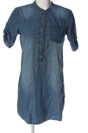 Jacqueline de Yong Kurzarmkleid blau Casual-Look