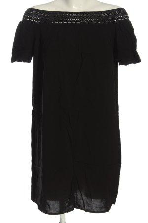 Jacqueline de Yong Kurzarmkleid schwarz Casual-Look