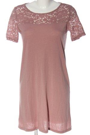 Jacqueline de Yong Abito a maniche corte rosa stile casual