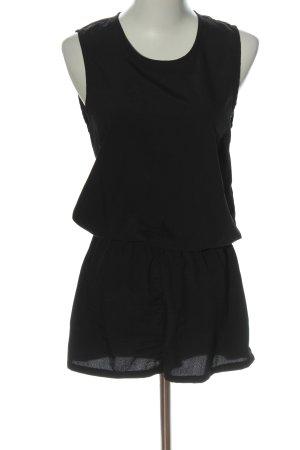 Jacqueline de Yong Kurzer Jumpsuit schwarz Casual-Look