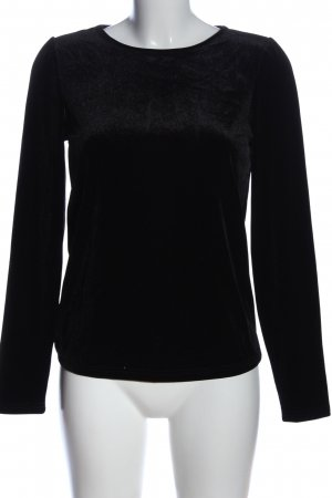 Jacqueline de Yong Langarm-Bluse schwarz Casual-Look