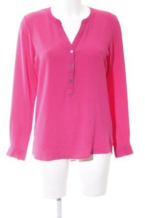 Jacqueline de Yong Langarm-Bluse pink Business-Look