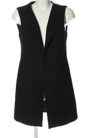 Jacqueline de Yong Cardigan lungo smanicato nero elegante