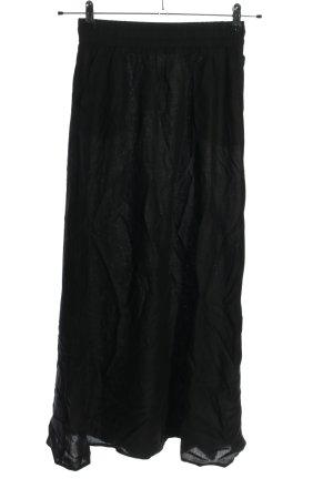 Jacqueline de Yong Spódnica maxi czarny W stylu casual