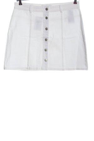 Jacqueline de Yong Miniskirt white casual look