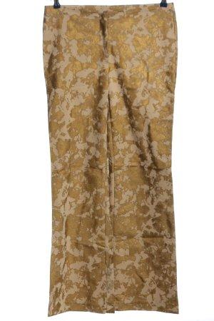 Jacqueline de Yong Dzwony złoto-kremowy Na całej powierzchni W stylu casual