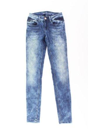 Jacqueline de Yong Jeans skinny blu-blu neon-blu scuro-azzurro Viscosa