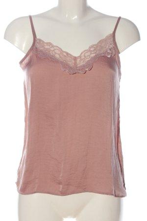 Jacqueline de Yong Haut à fines bretelles rose style décontracté