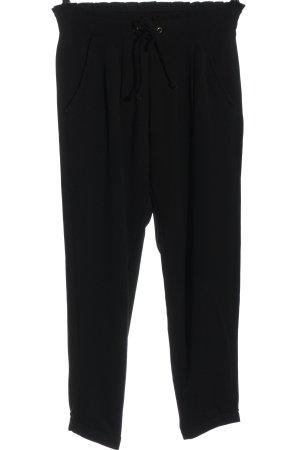 Jacqueline de Yong Pantalone jersey nero stile casual