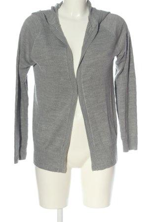 Jacqueline de Yong Cardigan in maglia grigio chiaro puntinato stile casual