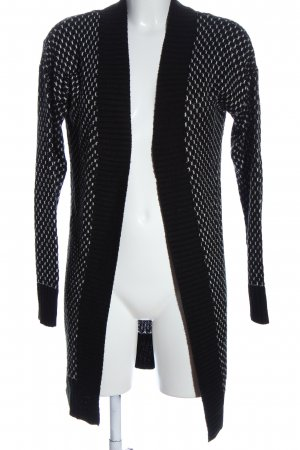 Jacqueline de Yong Cardigan in maglia nero-bianco stile casual