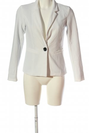 Jacqueline de Yong Knitted Blazer white business style