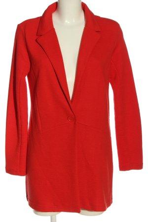 Jacqueline de Yong Blazer in maglia rosso stile casual