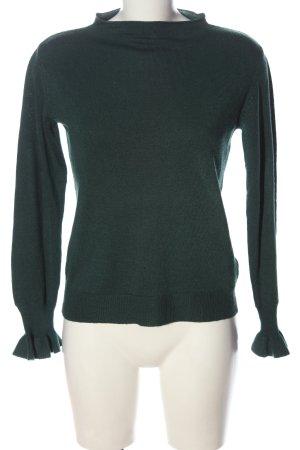 Jacqueline de Yong Maglione lavorato a maglia verde stile casual