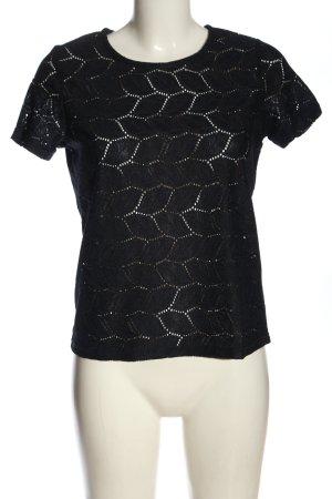 Jacqueline de Yong Camicia maglia nero stile casual