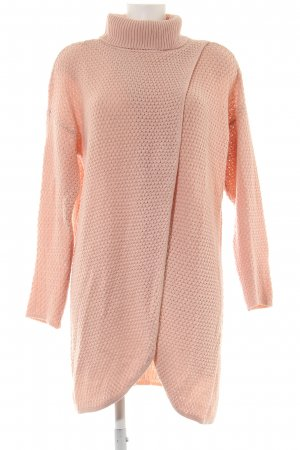 Jacqueline de Yong Knitted Wrap Cardigan nude cable stitch casual look