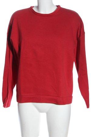 Jacqueline de Yong Felpa rosso stile casual