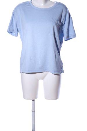 Jacqueline de Yong T-Shirt blau Casual-Look