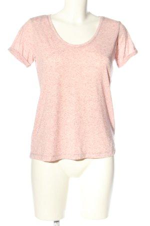 Jacqueline de Yong T-Shirt pink meliert Casual-Look