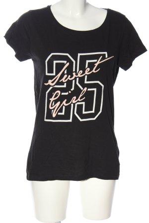 Jacqueline de Yong T-Shirt Motivdruck Casual-Look