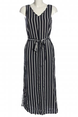Jacqueline de Yong Trägerkleid schwarz-weiß Streifenmuster Casual-Look