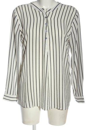 Jacqueline De Young Long Sleeve Blouse natural white-black striped pattern