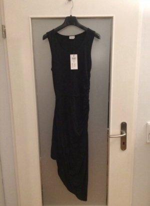 Jacqueline Yong von Only Langes Asymmetrisches Kleid mit Raffungen Gr. 34/XS Neu mit Etikett NP 26,99€