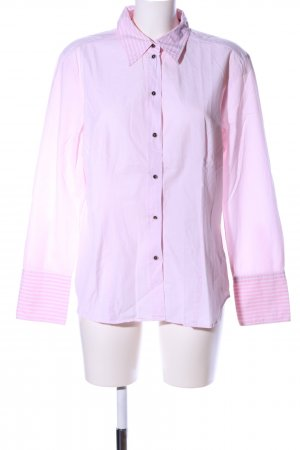 Jacques britt Hemd-Bluse pink Streifenmuster Business-Look