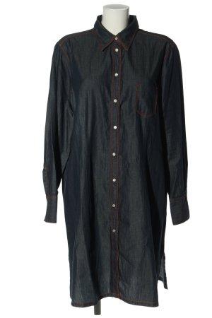 Jacques britt Robe chemise bleu style décontracté