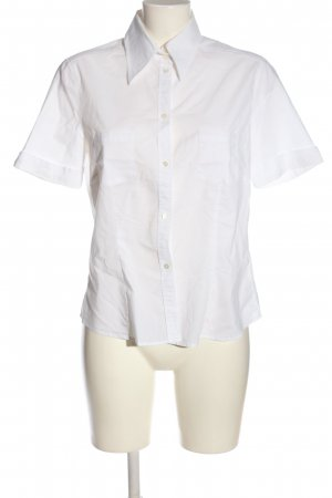 Jacques britt Camicia a maniche corte bianco stile casual