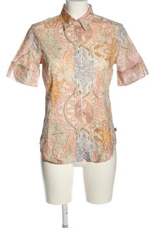 Jacques britt Chemise à manches courtes motif abstrait style décontracté