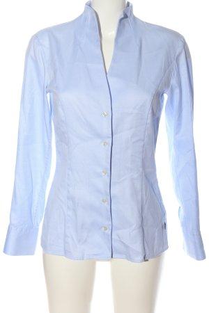 Jacques britt Blusa de manga larga azul look casual