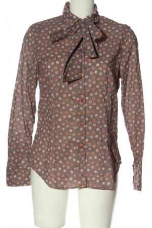 Jacques britt Chemise à manches longues imprimé allover style décontracté