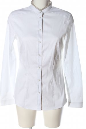Jacques britt Chemise à manches longues blanc style décontracté