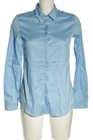 Jacques britt Camicia a maniche lunghe blu stile professionale
