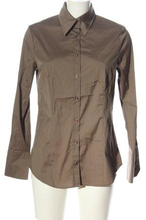 Jacques britt Long Sleeve Shirt brown business style