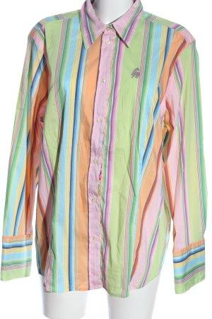 Jacques britt Langarmhemd Streifenmuster Casual-Look